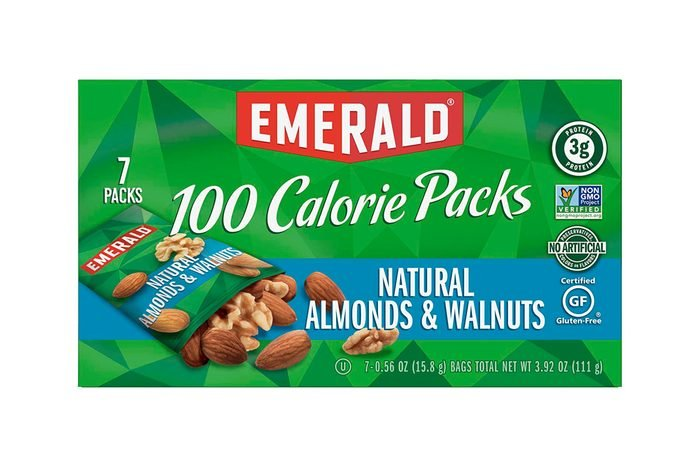 Walnut and almond packs