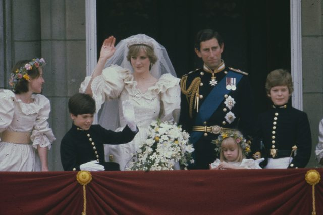 Wedding of Prince Charles and Lady Diana