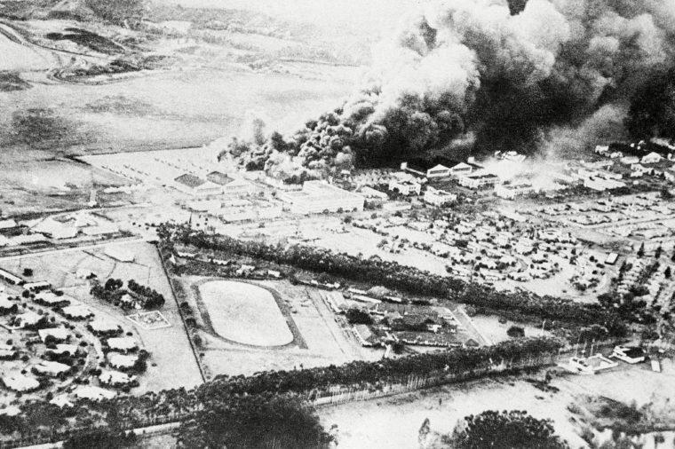 WWII U.S. Attack, Pearl Harbor, USA - 7 Nov 1941