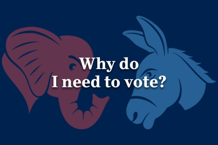 why do i need to vote
