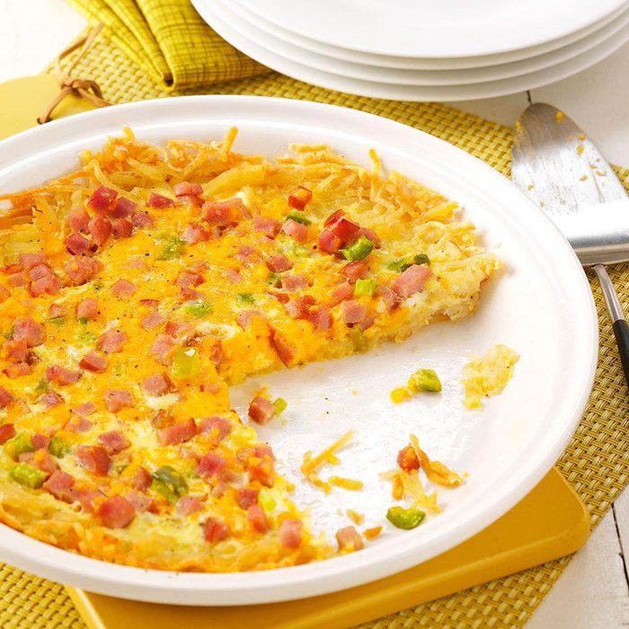 Hash Brown Breakfast Quiche