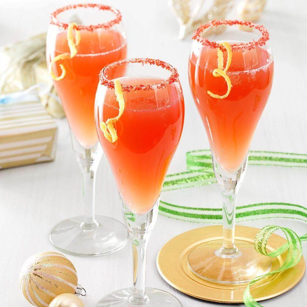 holiday mimosa