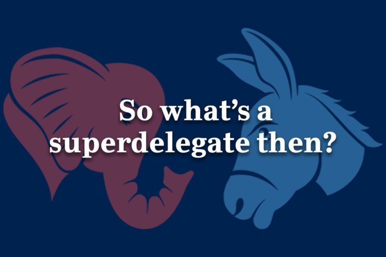 what is a superdelegate