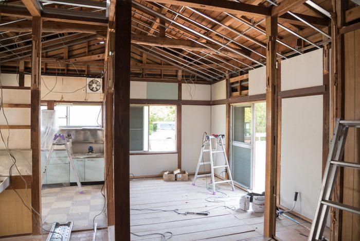 House renovation construction