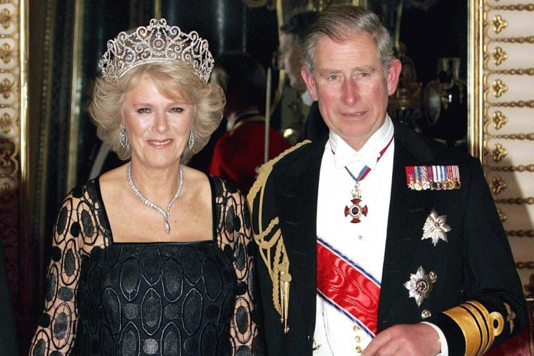 Duchess of Cornwall Parker Bowles and Britain''s Princ United Kingdom London