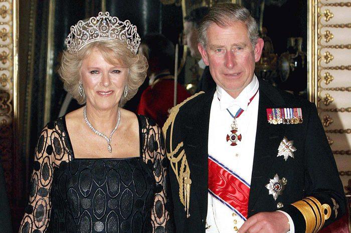 Duchess of Cornwall Parker Bowles and Britain''s Princ United Kingdom London