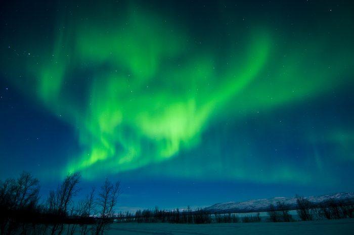 Aurora Borealis, Lapland, Sweden