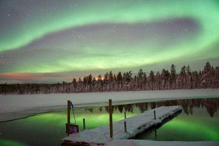 Northern Lights from Rovaniemi, Finland