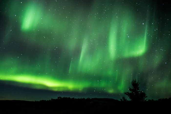 Northern (Dancing) lights in Iceland