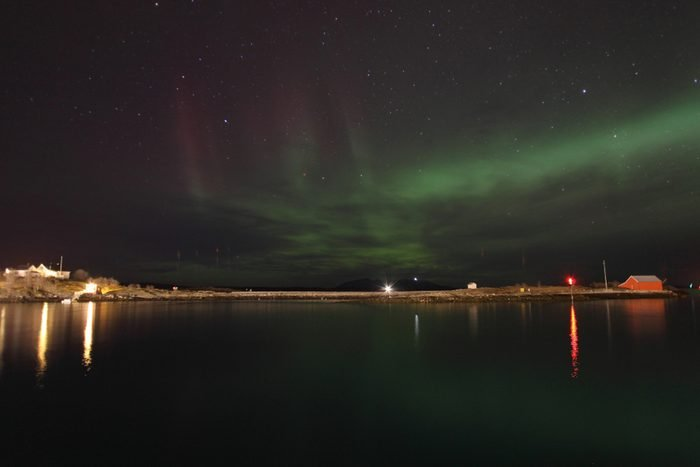northern lights or aurora, Bodo, Nordland, Norway
