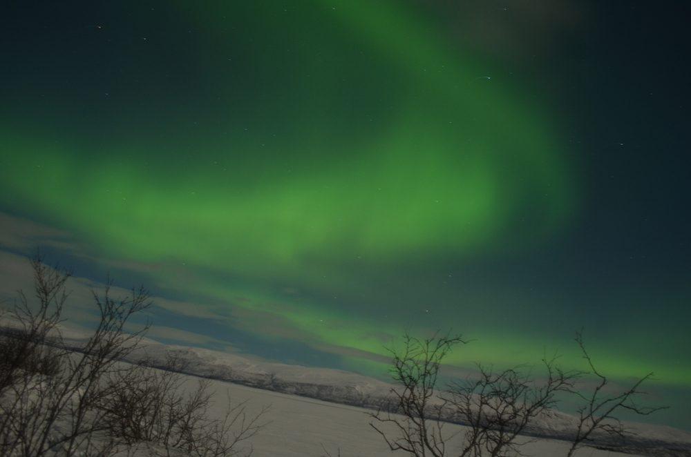 Abisko and Kiruna in Sweden