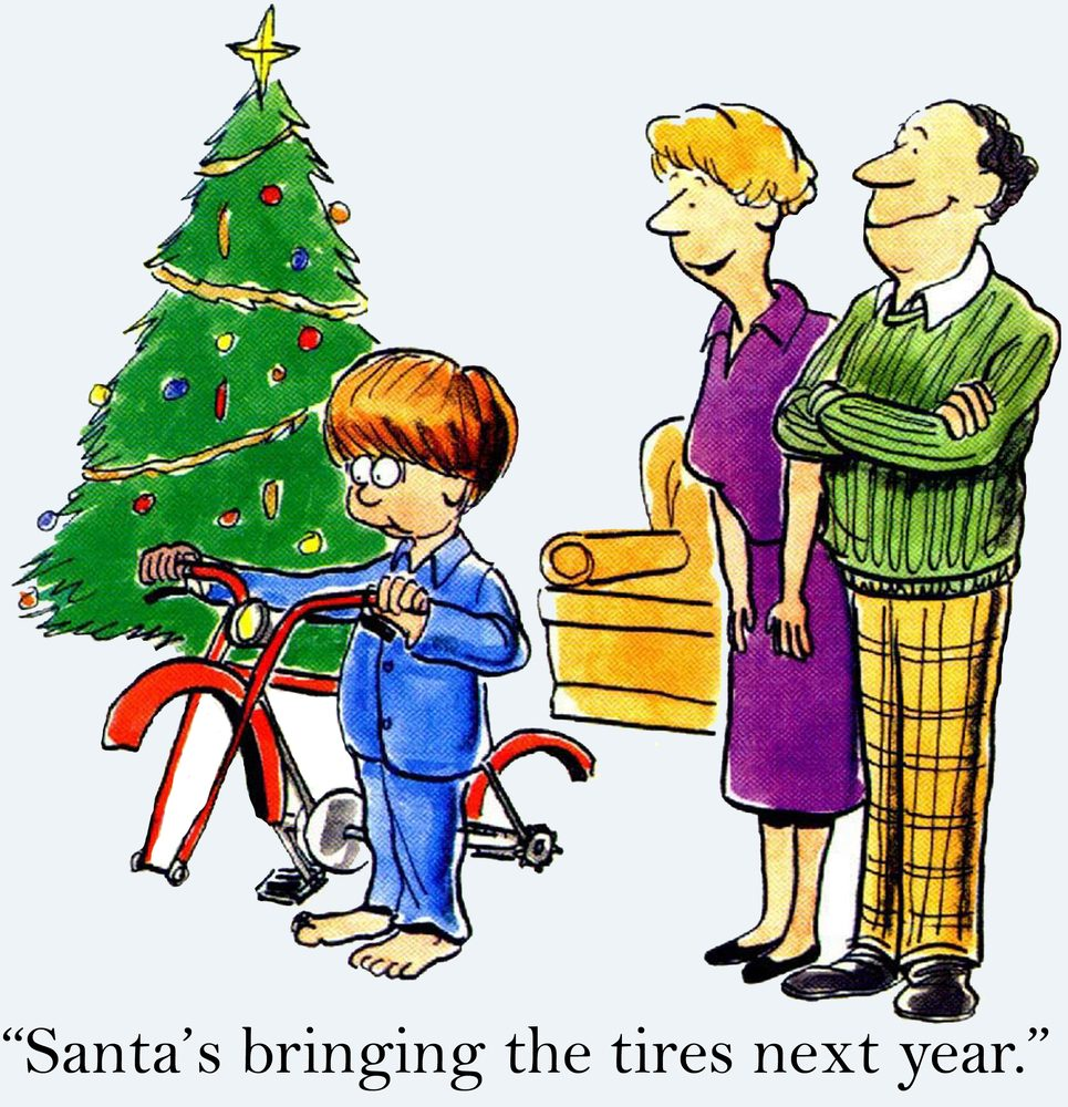 Funny Christmas Picture.Christmas Cartoons Perfect For Yuletide Laughs Reader S Digest