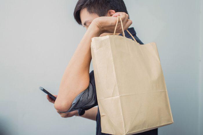 Male Shopping bag