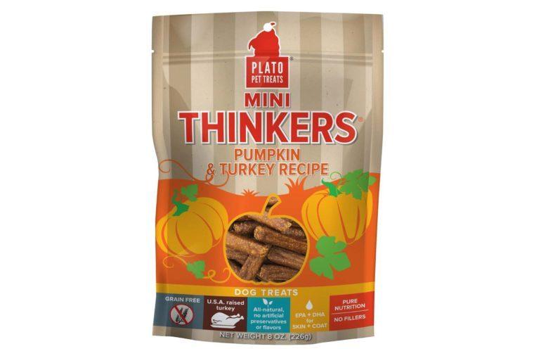 plato pet treats mini thinkers