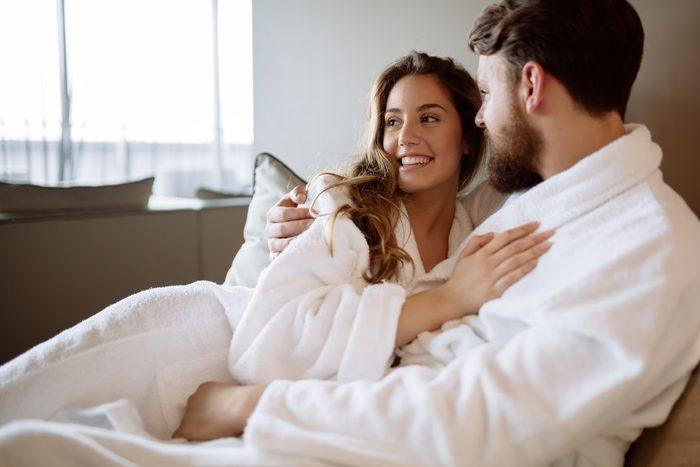 spa day couple. Romantic anniversary ideas