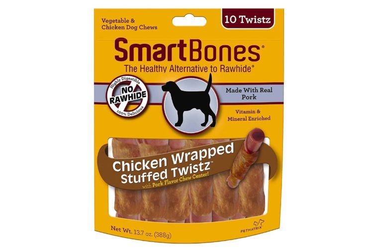 smart bones dog twistz