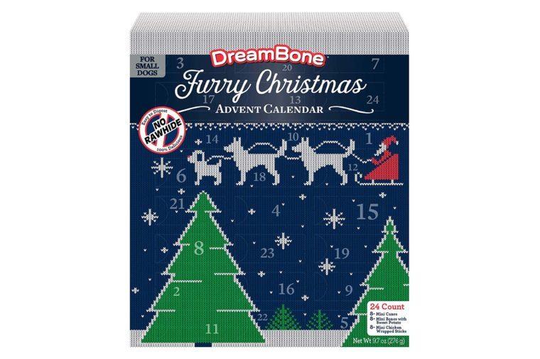 furry christmas advent calendar