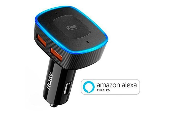Alexa enabled USB car charger