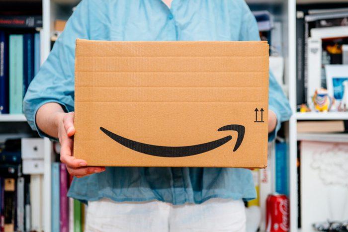 Amazon give back box