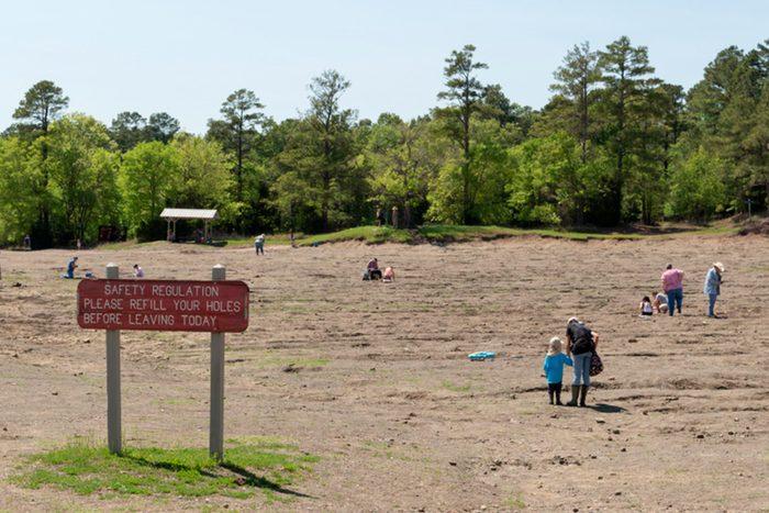 Arkansas Diamonds crater state park
