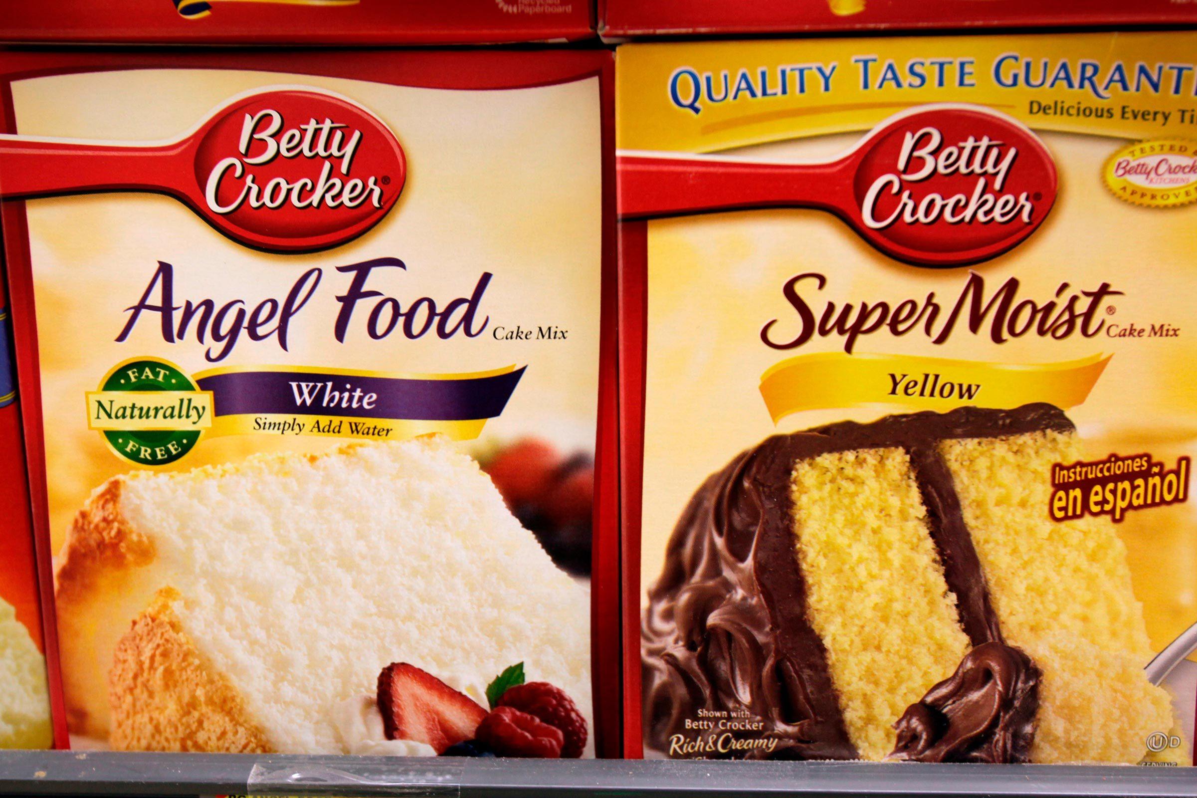 Betty Crocker cake