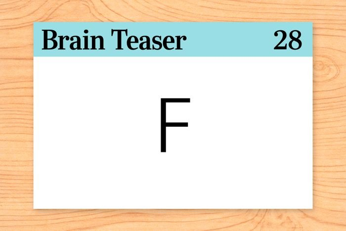 Why is the letter F like death?