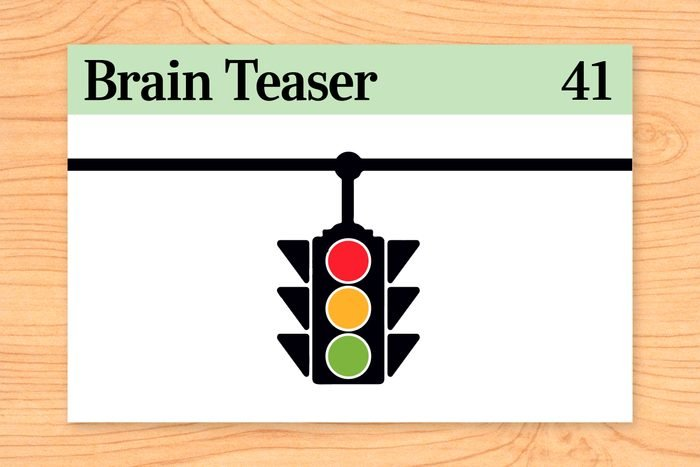 Four cars come to a four-way stop, all coming from a different direction. They can't decide who got there first, so they all go forward at the same time. They do not crash into each other, but all four cars go. How is this possible?
