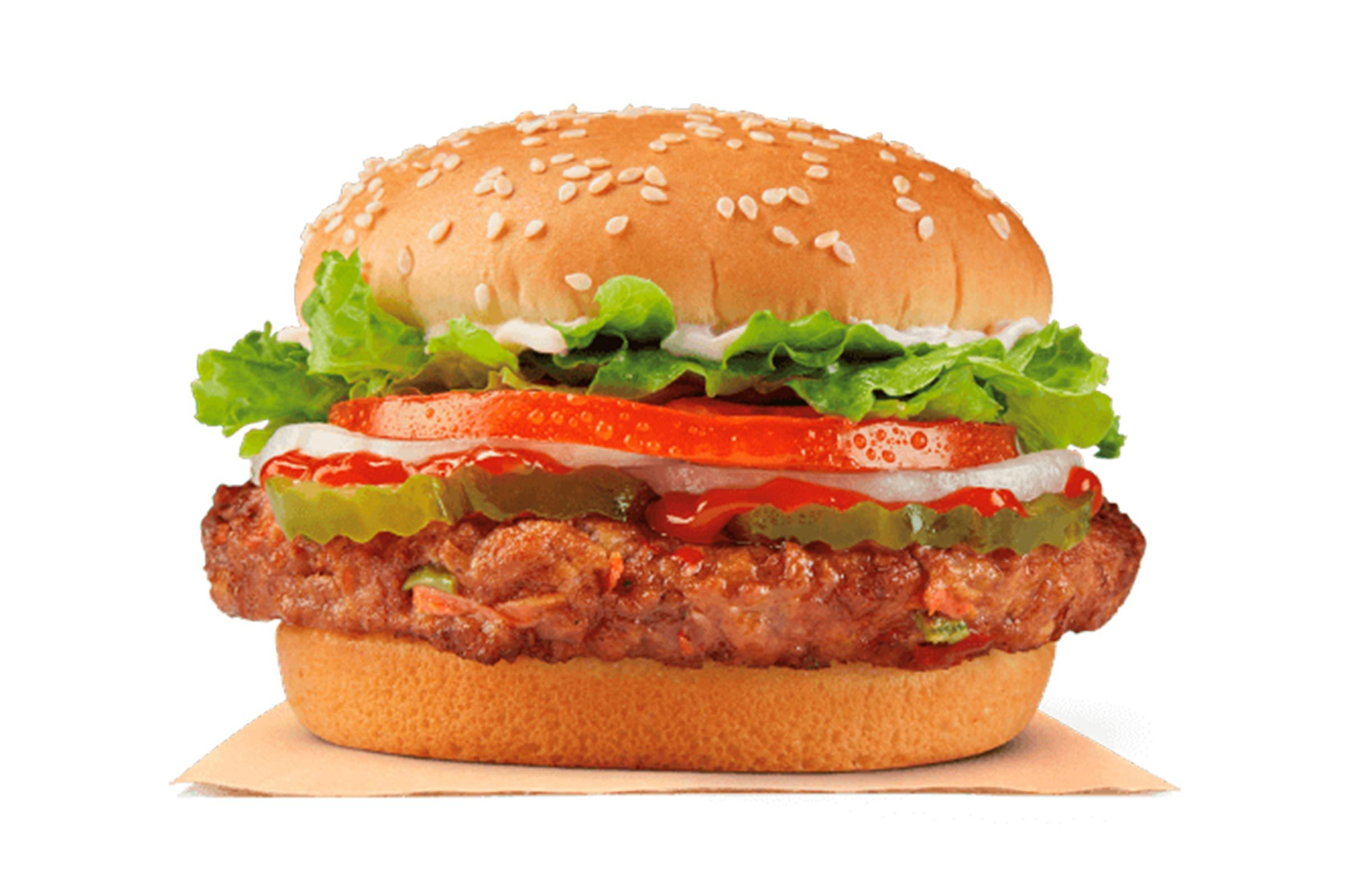 Burger King veggie burger