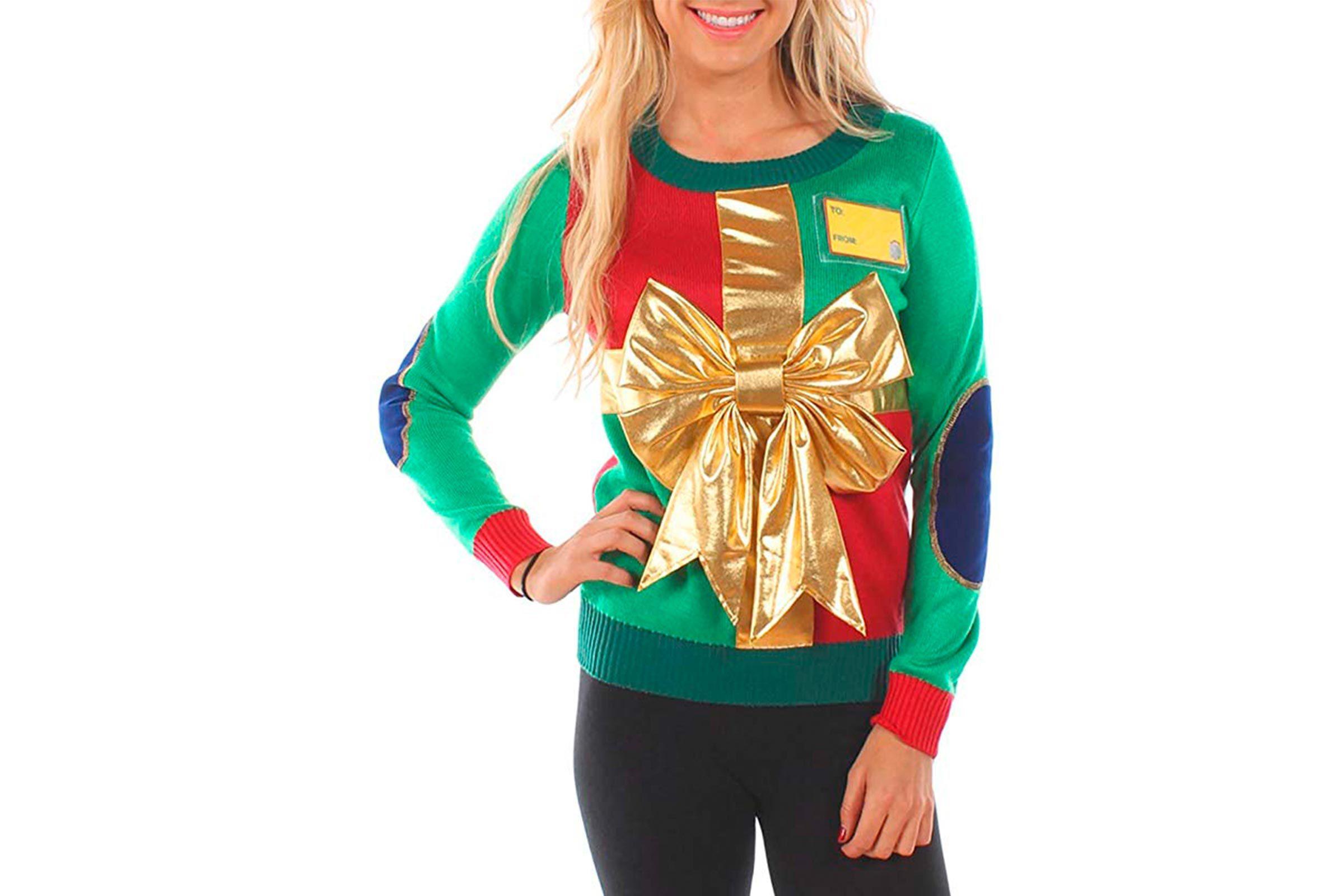 Present Christmas sweater