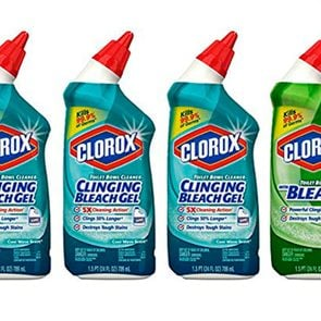 Clorox cleaning supplies