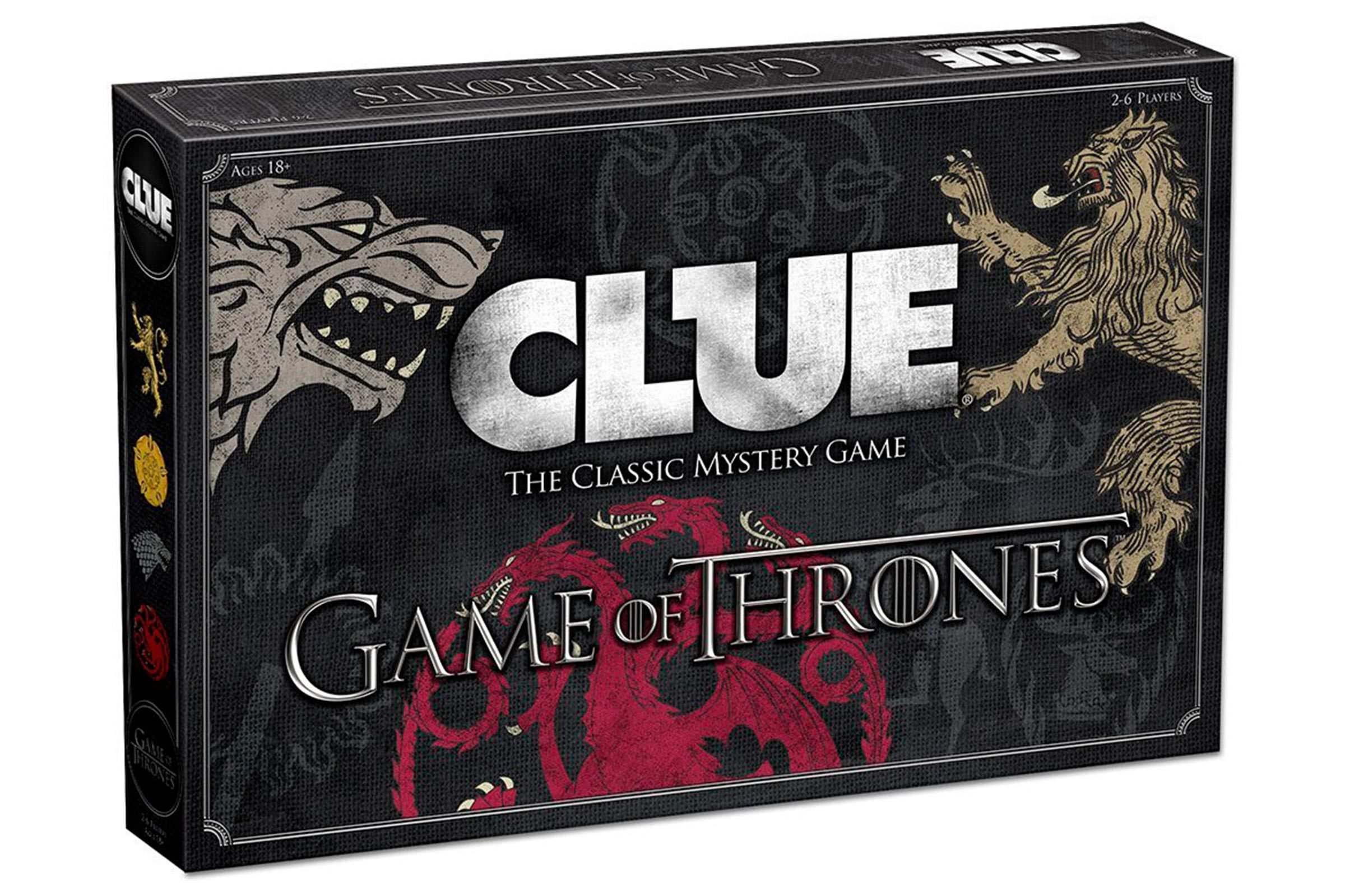 Clue Game of Thrones version