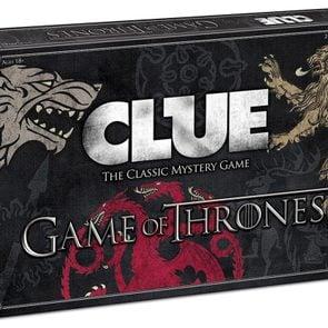 Clue Game of Thrones version