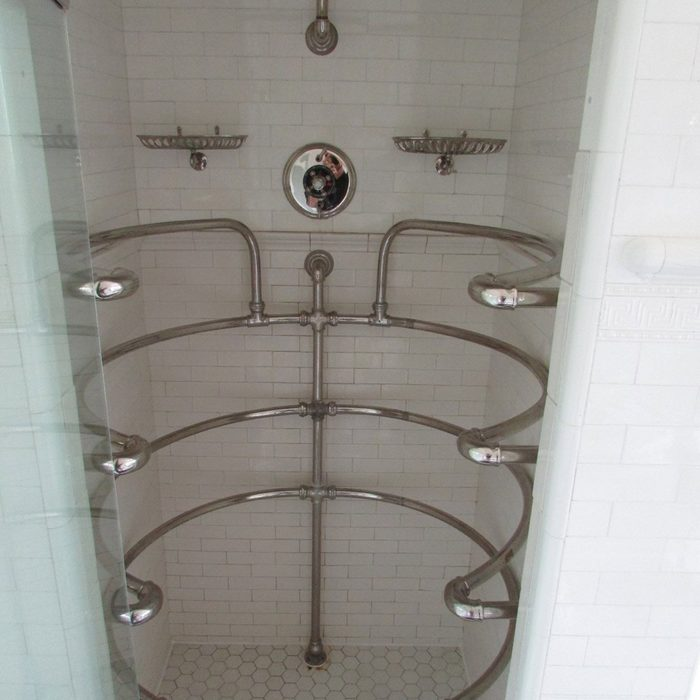 Cool-shower with all angle shower heads shower car wash
