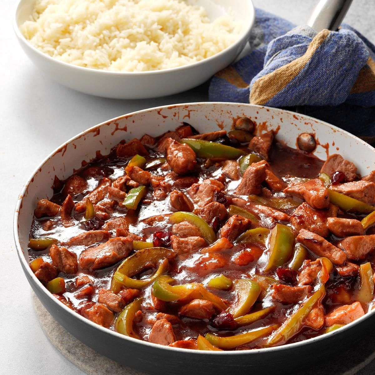 Cranberry Sweet-and-Sour Pork