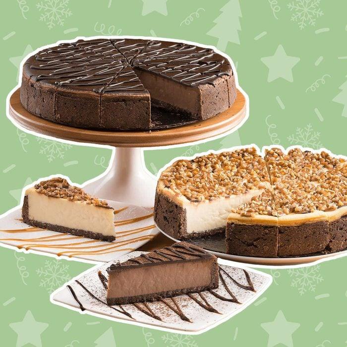David's Cookies Variety Cheesecakes
