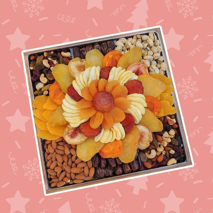 Dried Fruit & Nut Wooden Gift Tray
