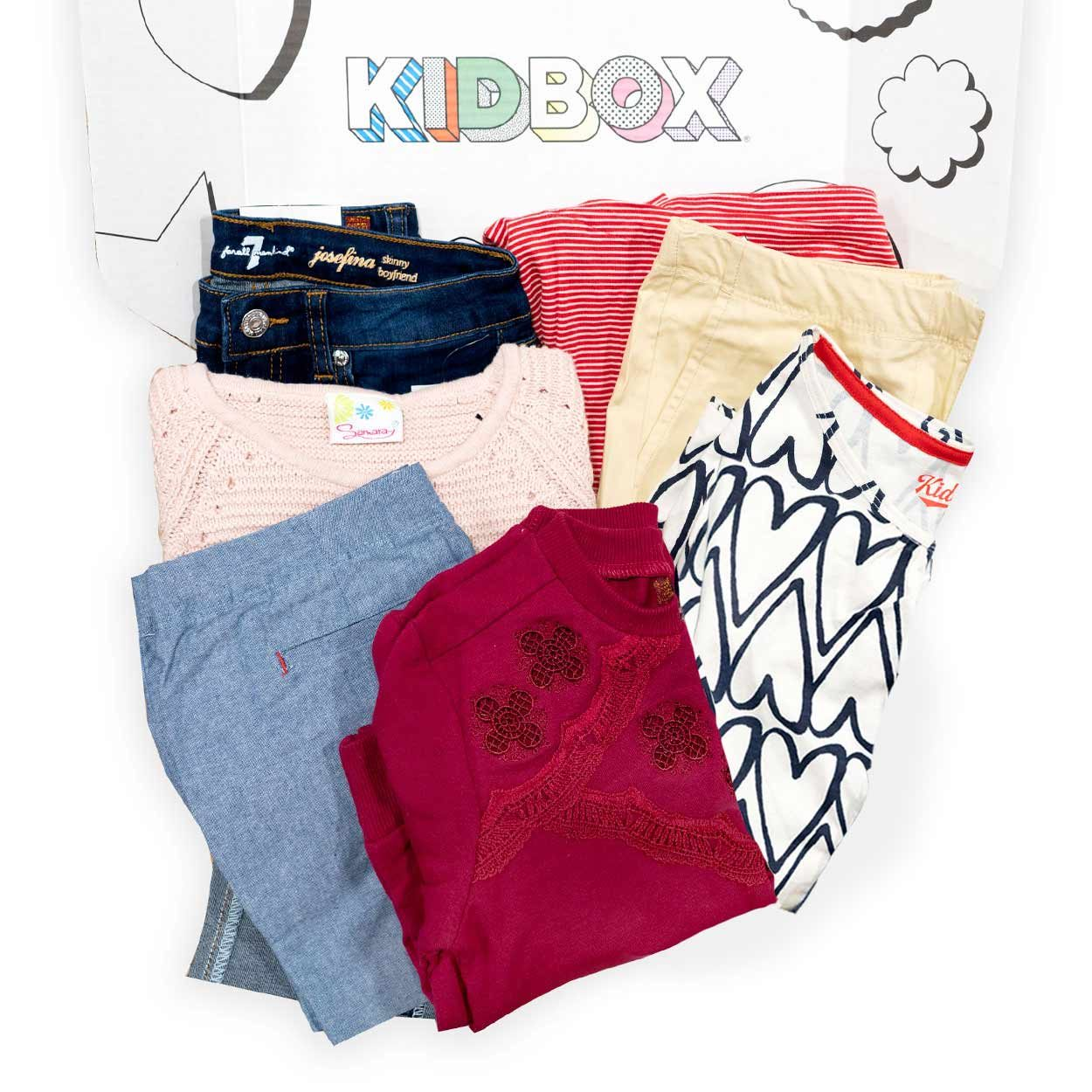 kids clothes kit