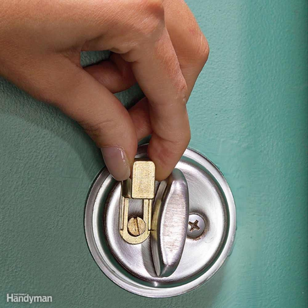 Pick-Proof Your Dead Bolt