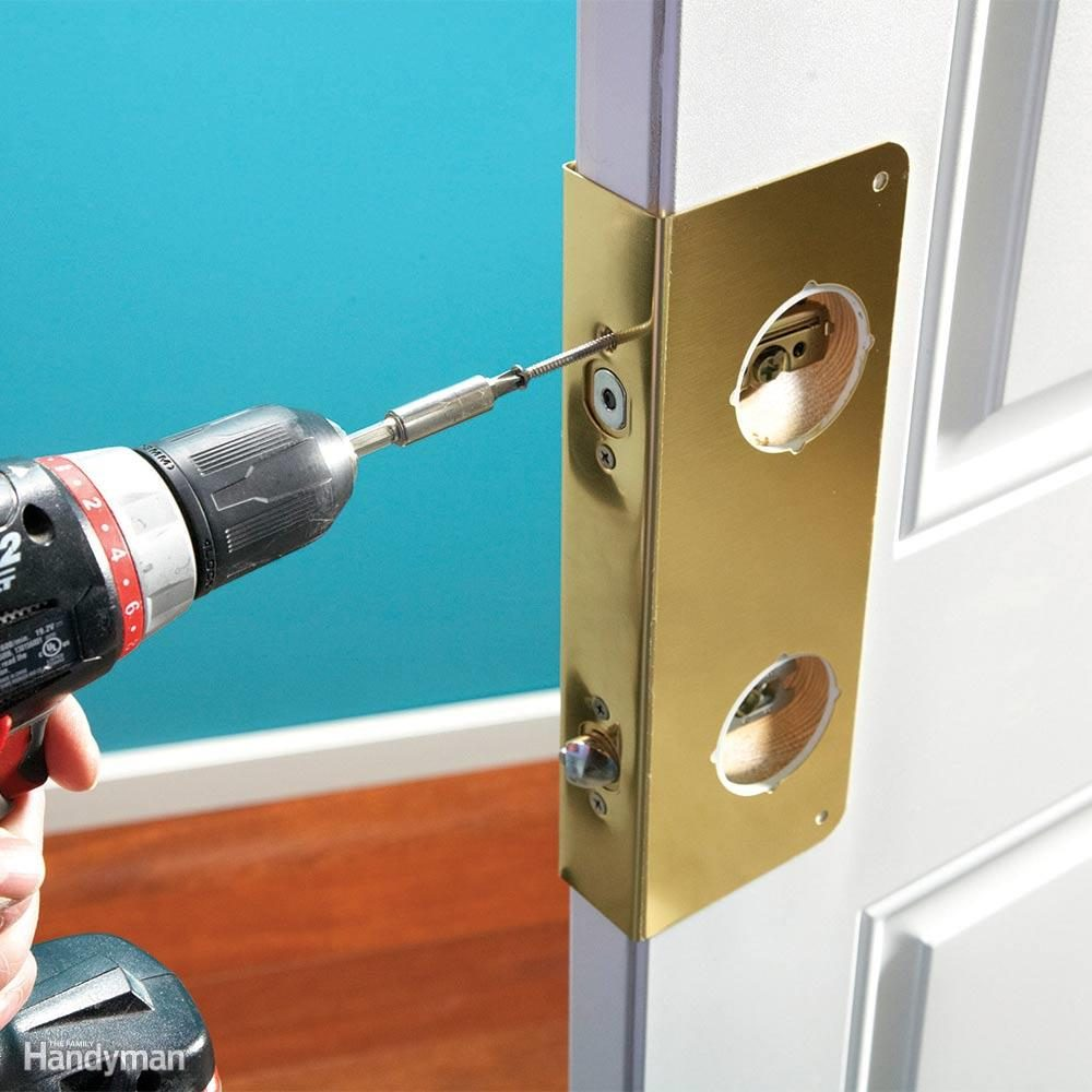 Install Door Reinforcement Hardware