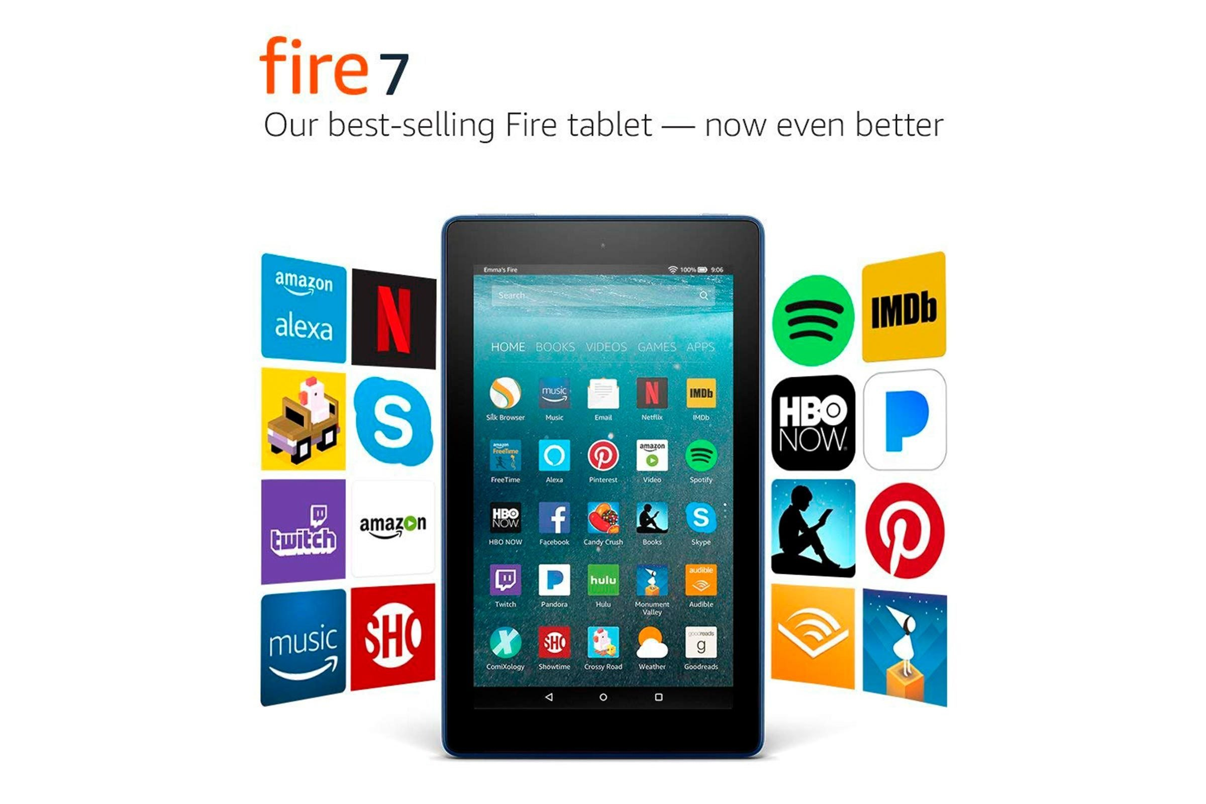 Fire tablet