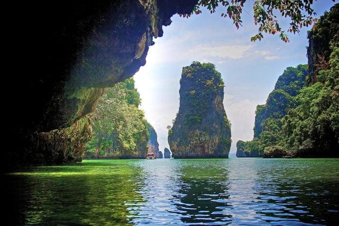 Phang Nga Bay Caves—Phuket, Thailand
