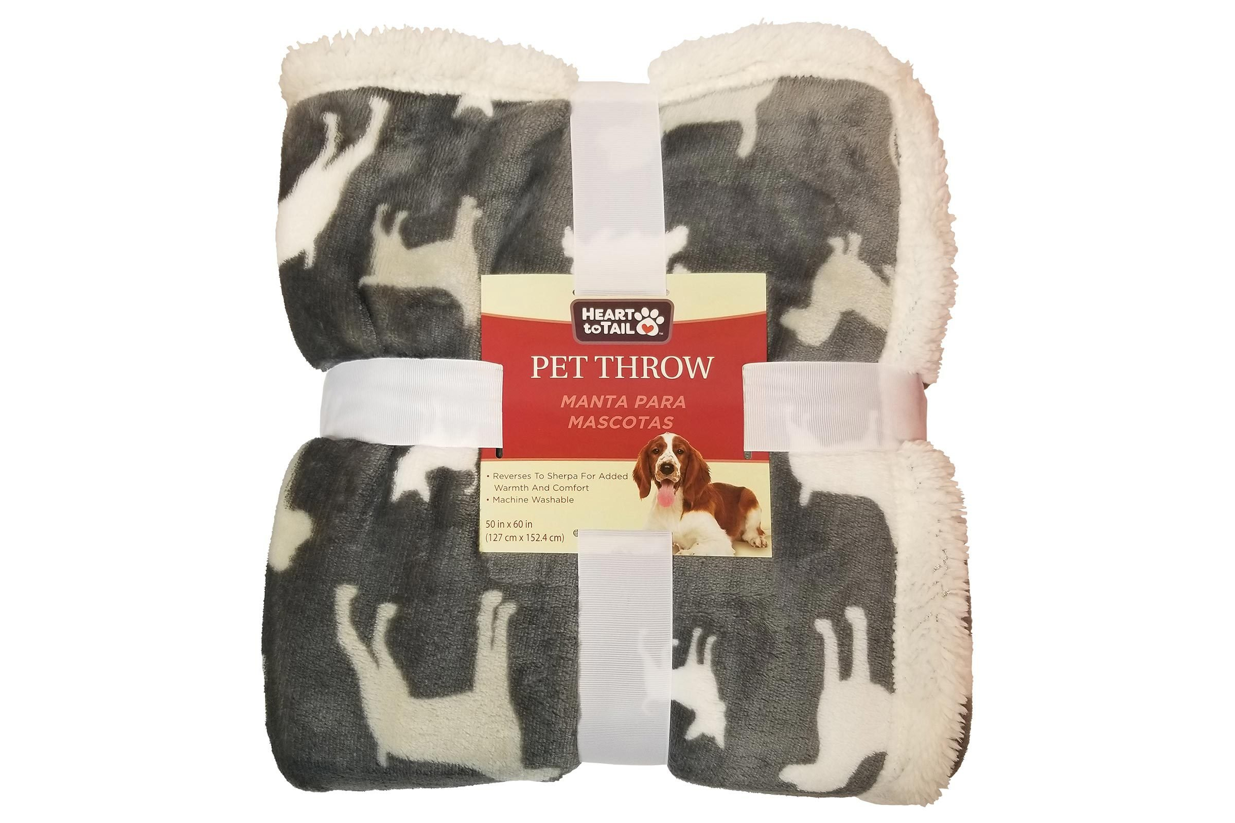Heart to Tail Pet Throw