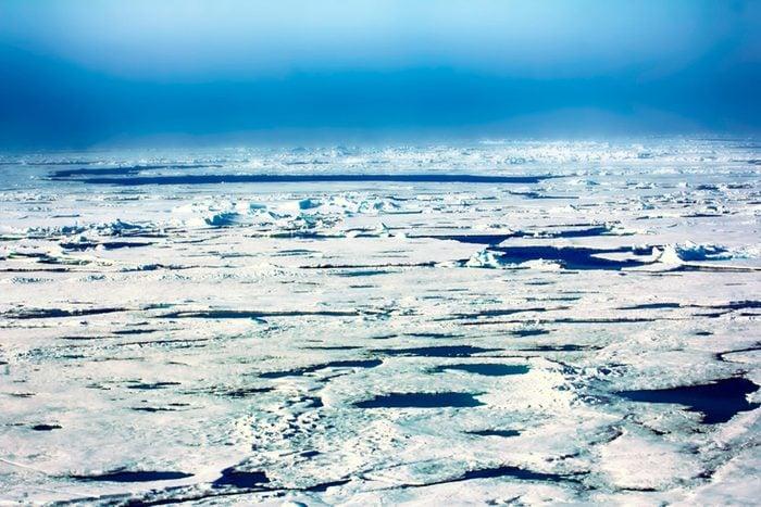 Iceblink at North Pole