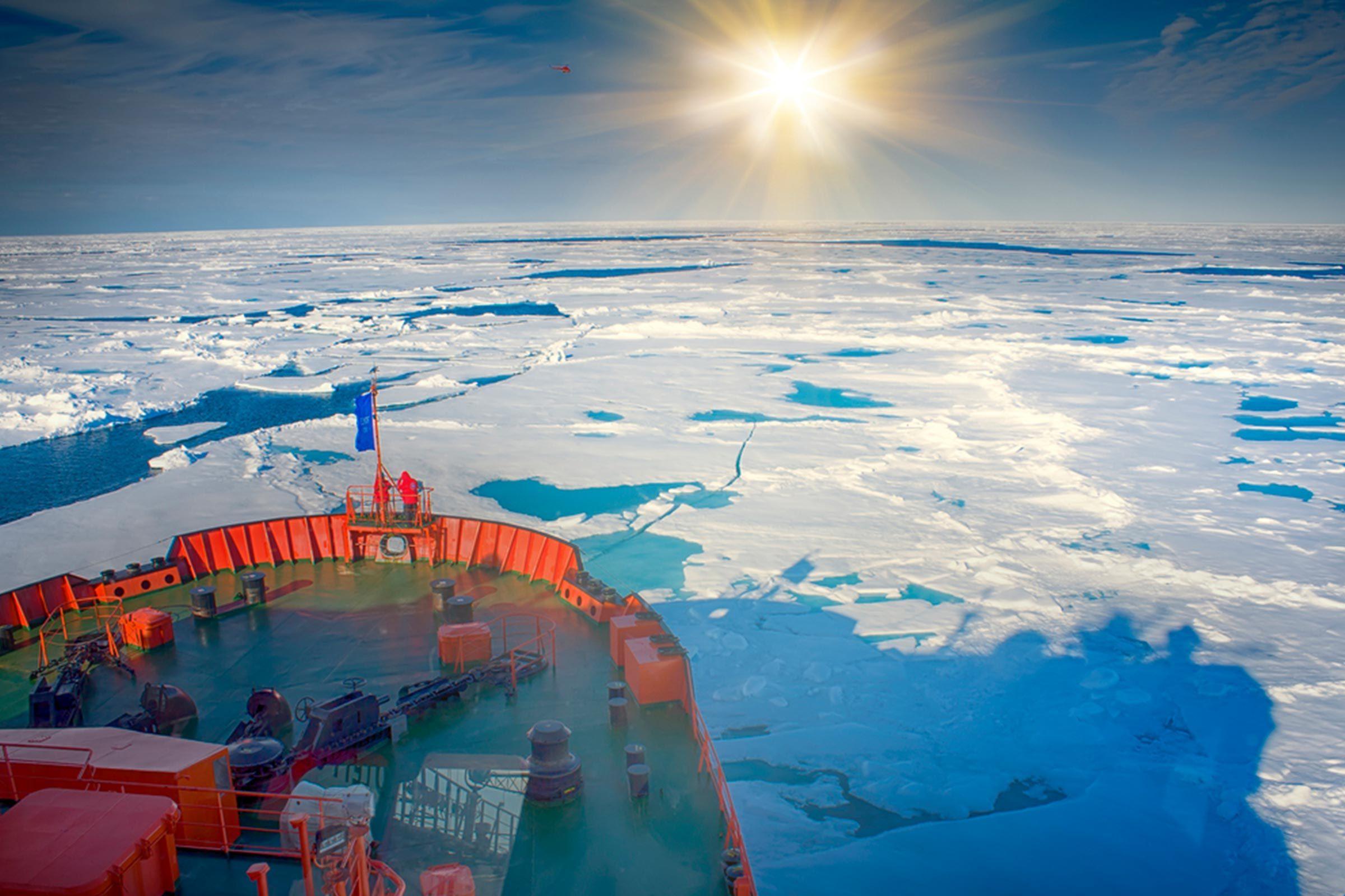 Icebreaker before
