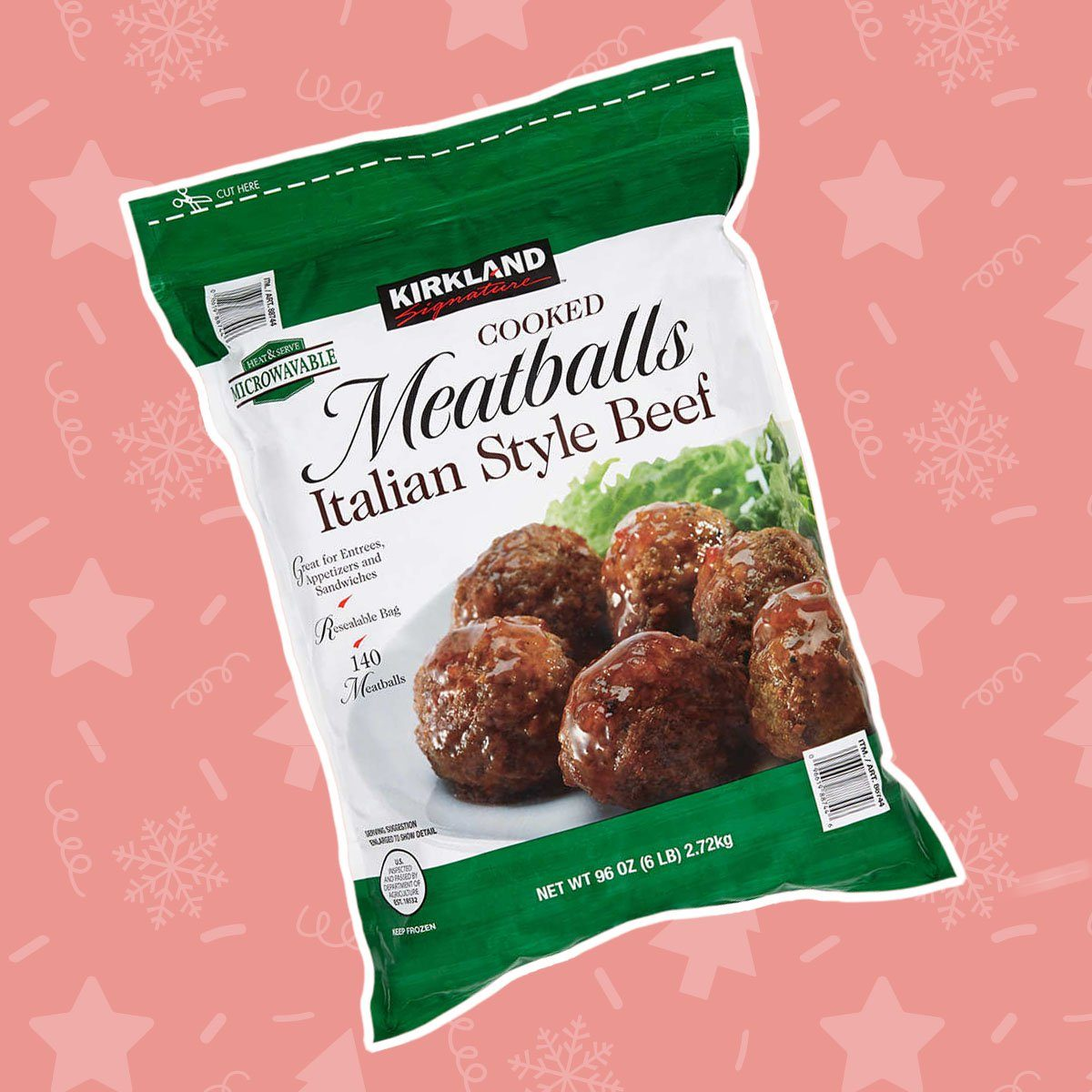 Kirkland Signature Meatballs