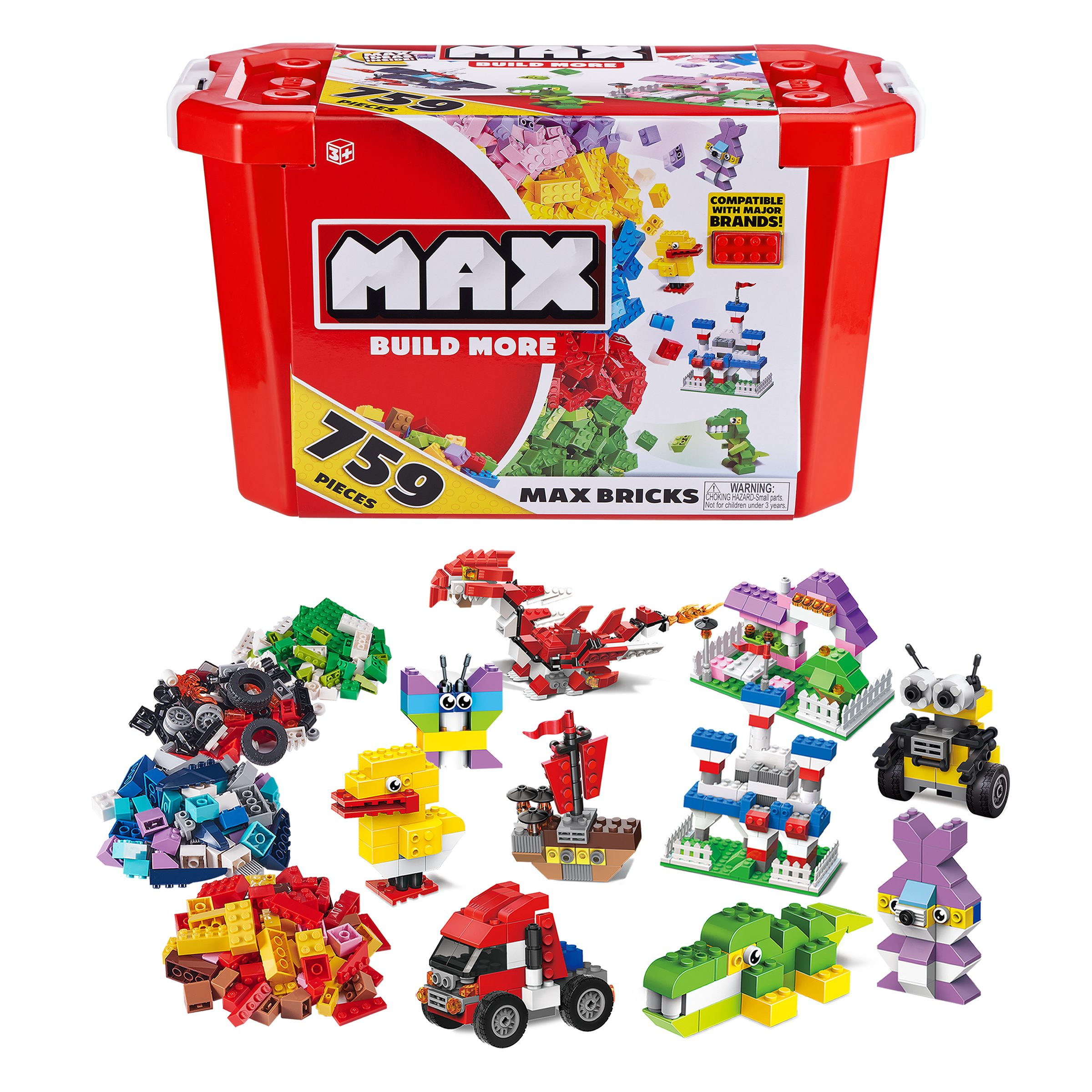 MAX Build More Building Bricks Set
