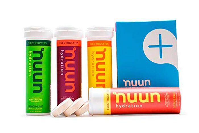 Nuun Hydration electrolyte drink tablets