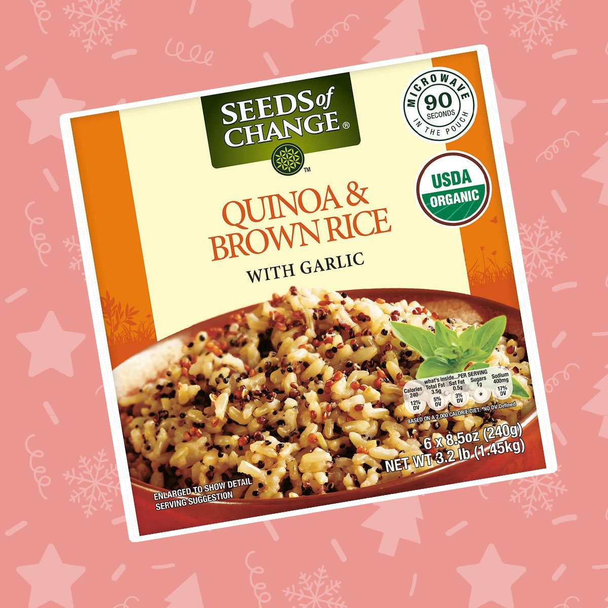 Organic Quinoa and Brown Rice