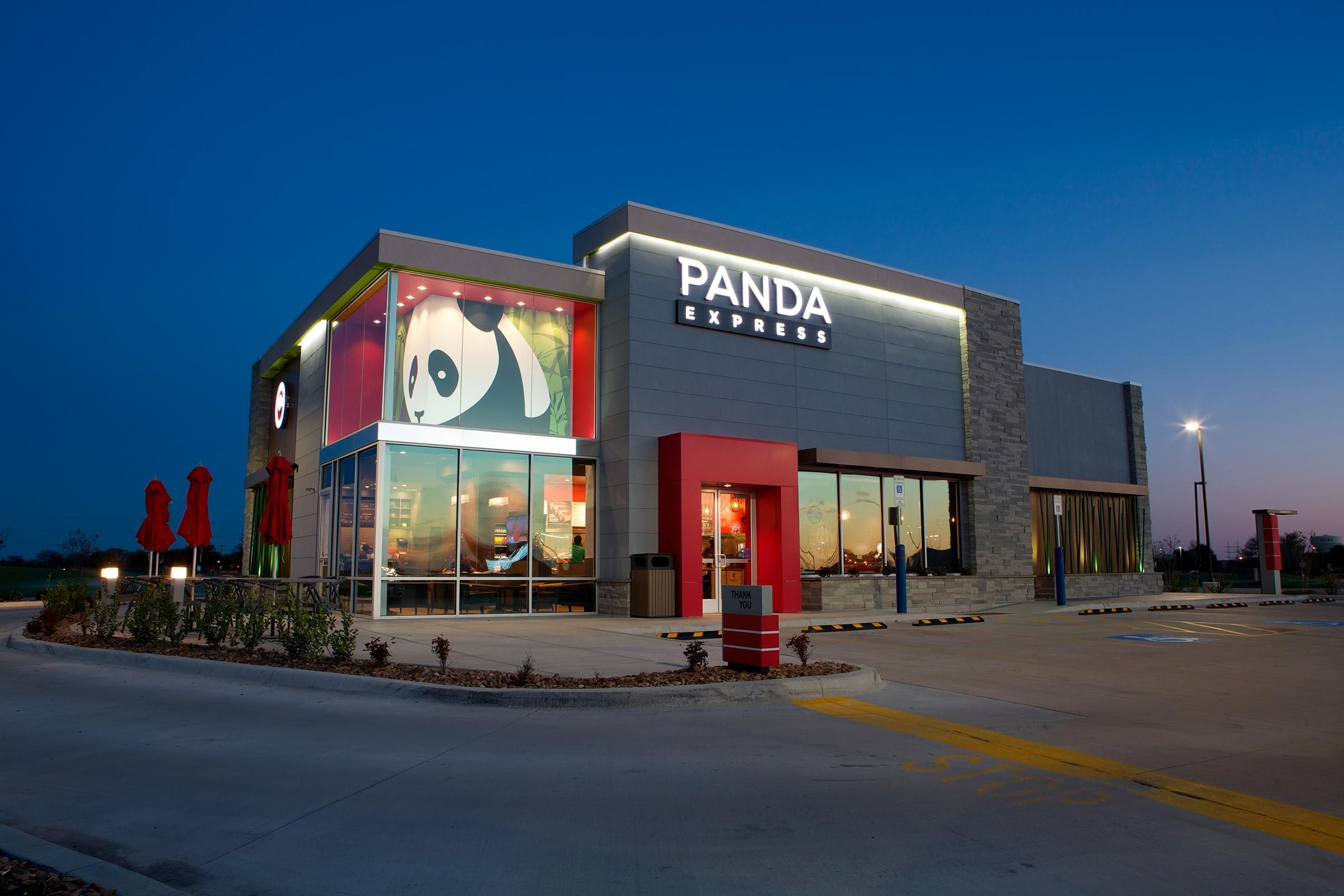 Panda Express Exterior