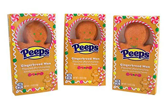 Peeps Gingerbread Man